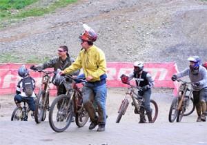 Катание на велосипеде в Вистлере