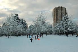 Tobogganing and Sledding in Vancouver