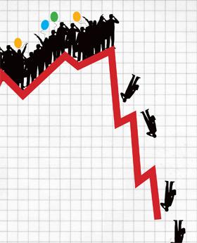 снижение цен на золото