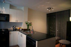 Кухня квартиры в Северном Ванкувере