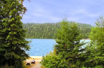 Озеро Sasamat