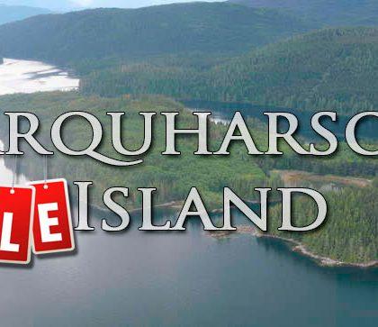 Продается остров Фарквхарсон (Farquharson Island) за 635 263 USD