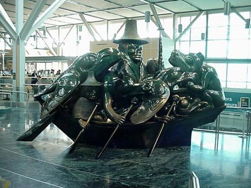 Туризм, полеты с Ванкуверского аэропорта