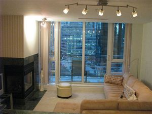 one bedroom apartment waterfront building Vancouver