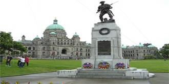 Виктория — столица нашего края: Красивой Британской Колумбии