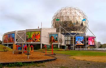 Посещение музея Science World….