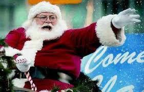 Roger Santa Claus in Vancouver