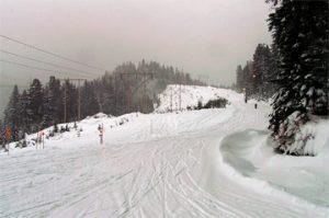 Лыжный сколон в Ванкувере