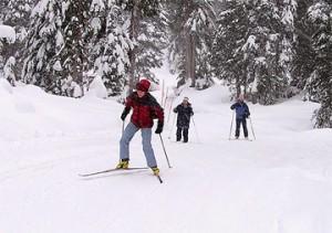 Лыжники в Ванкувере