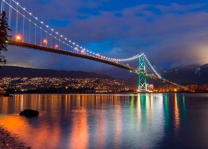 Климат и погода Ванкувера: отдых, путешествия, карта Канады.