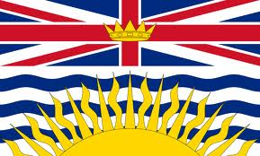 Флаг британской Колумбии