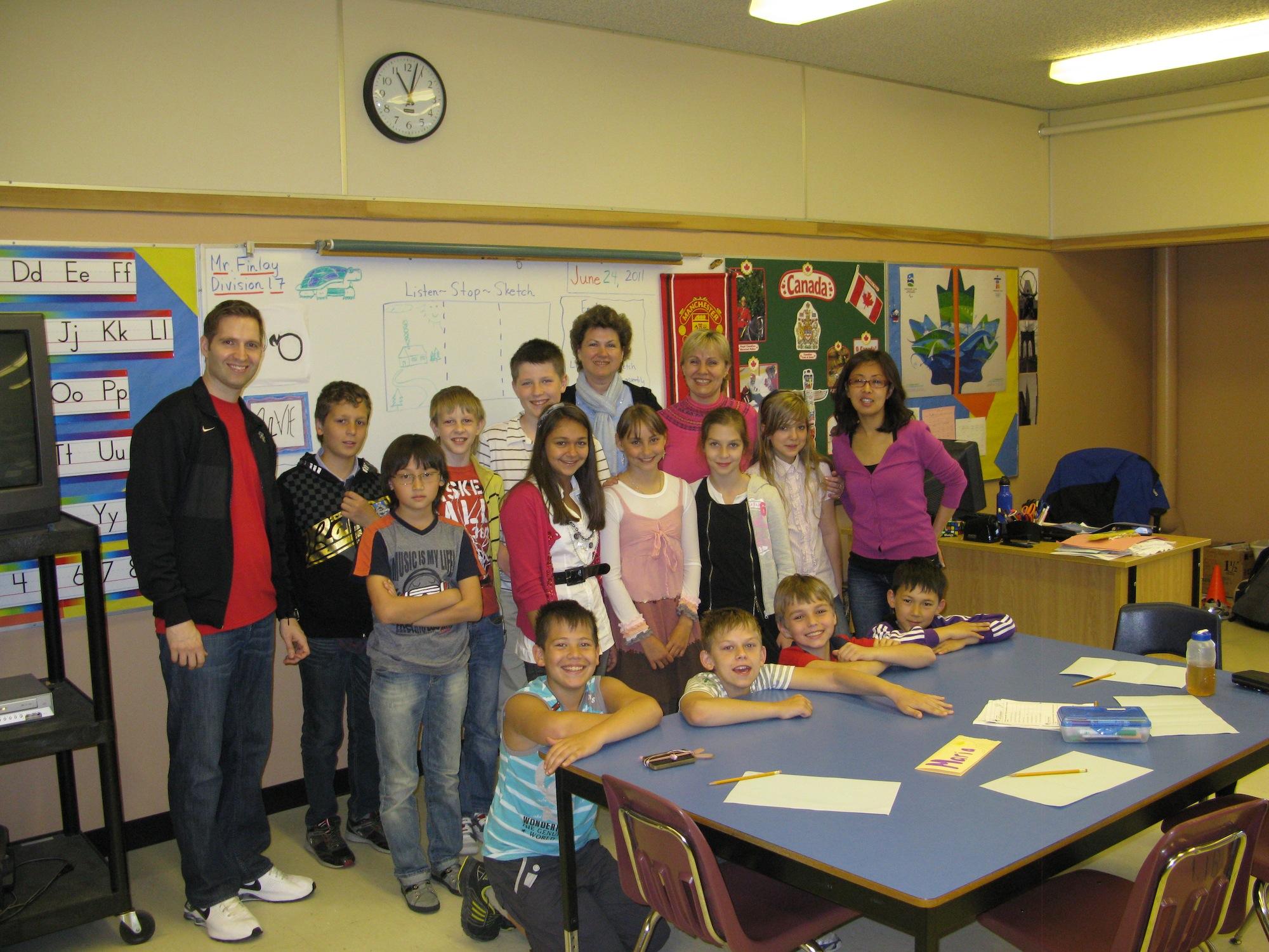 стажировка школьников в Канаде