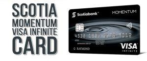 Кредитная карта Scotia Momentum Visa Infinite
