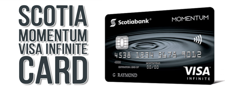 Кредитная карта Scotia Momentum Visa Infinite
