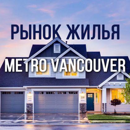 Рынок жилья в Большом Ванкувере возвращается к исторически типичным уровням